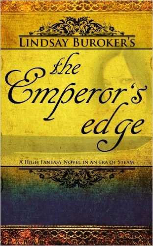 The Emperors Edge Cover